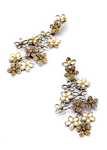 Full Bloom Earrings - Avery and May