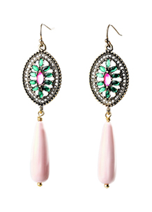 Stained Glass Teardrop Earrings - Avery and May