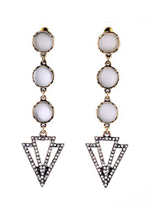 Deco Drop Earrings - Avery and May
