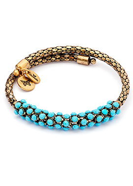 Originality Turquoise Wrap Bracelet - Avery and May