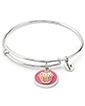 Girls Cupcake Expandable Bracelet - Avery and May